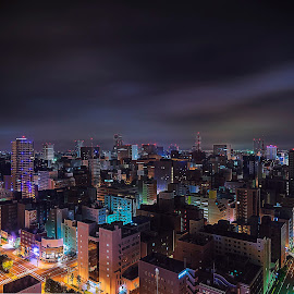 Sapporo by Crispin Lee - City,  Street & Park  Skylines