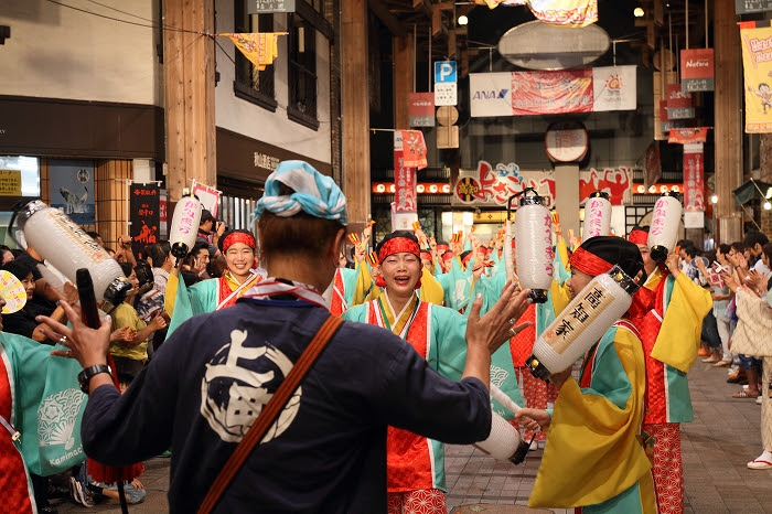 第61回よさこい祭り☆本祭2日目・はりまや橋競演場6☆上1目1414
