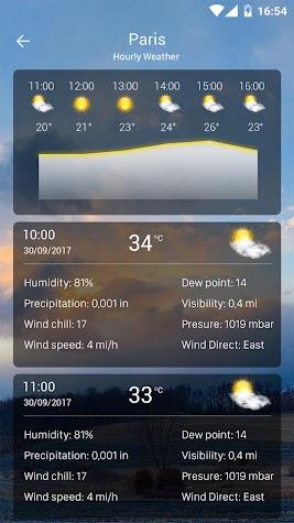 Weather forecast pro Screenshot