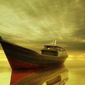 by Adya Saputra - Transportation Boats