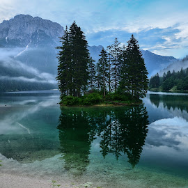 Jutro by Bojan Kolman - Landscapes Waterscapes