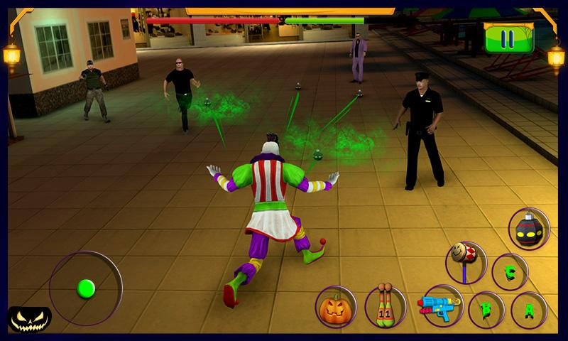 Scary Clown : Halloween Night Screenshot 2