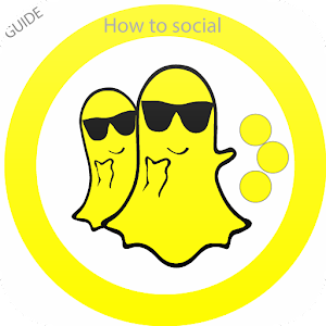 Free Snapchat Social Chat Tips Icon