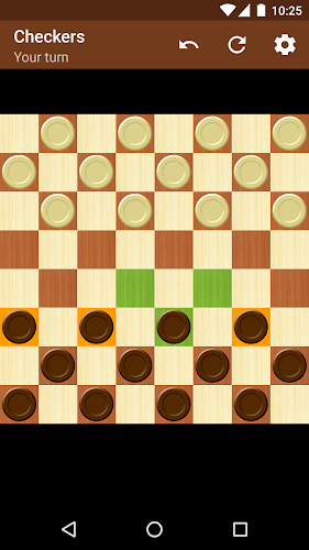 Checkers Android App Screenshot