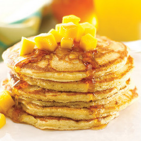 Tropical Mango Pancakes