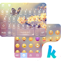 Sakura Butterfly Kika Keyboard