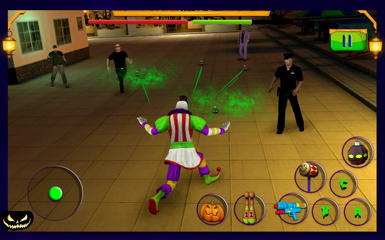 Scary Clown : Halloween Night Screenshot 6