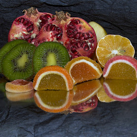 citrus with candys by LADOCKi Elvira - Food & Drink Fruits & Vegetables