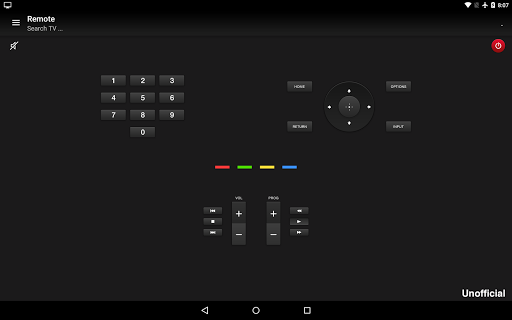 Remote for Sony TV screenshot 3