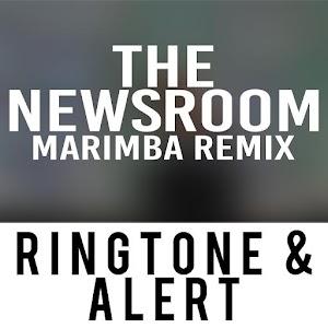Cover art The Newsroom Theme Marimba