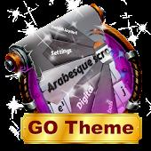 App Arabesque scrolls GO Keyboard APK for Kindle