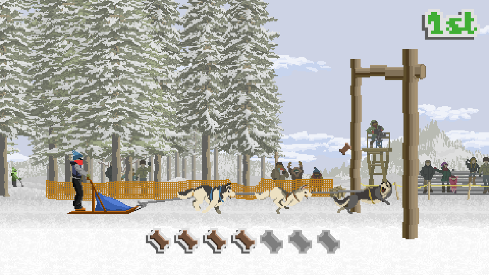 Dog Sled Saga Screenshot 0
