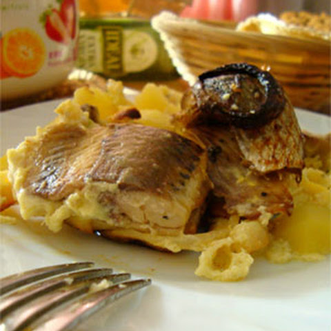 Estonian Baked Herring with Potatoes