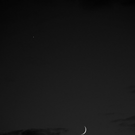 Crescent  by Todd Reynolds - Black & White Landscapes