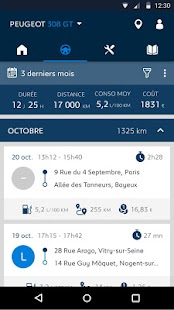 MYPEUGEOT APP - screenshot