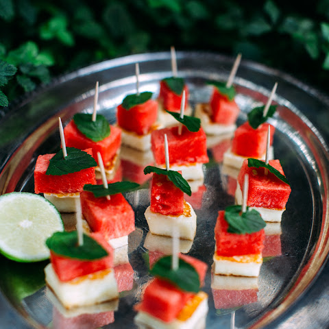 Halloumi + Watermelon + Mint