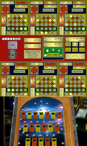 android Pinball Bingo Machine Screenshot 0