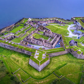 Charles Fort by Jim Hamel - Buildings & Architecture Decaying & Abandoned ( ireland, kinsale, green, ruin, charles, fort )