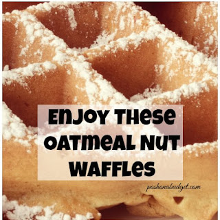 Enjoy These Oatmeal Nut Waffles #Recipe