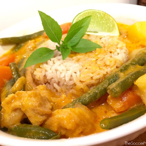 Pumpkin Spice Chicken Curry