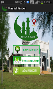 MasjidFinder v12 - screenshot