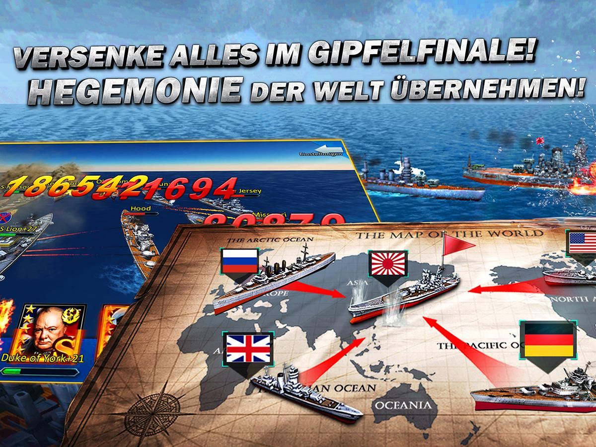 Thunder Fleet-Deutsch 3D Screenshot 4