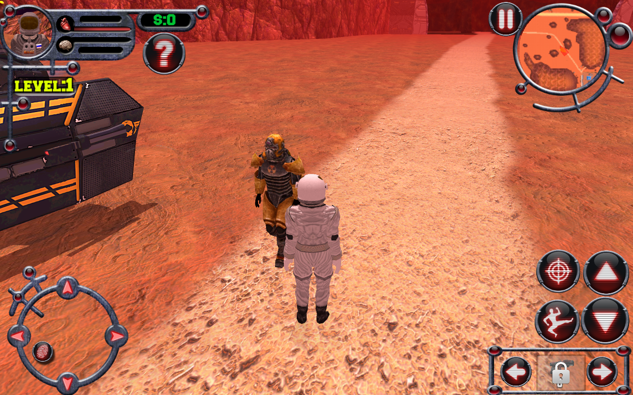Mars Man Survival Screenshot 4