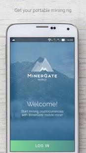 MinerGate Mobile Miner screenshot for Android