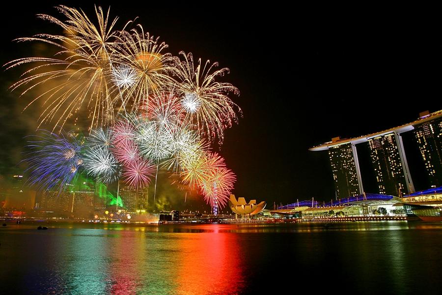 Celebration by Barry Allan - City,  Street & Park  Vistas