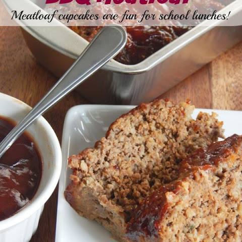 BBQ Meatloaf That Is Freezer Friendly & A School Lunch Idea