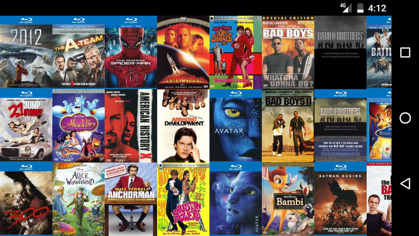 My Movies Pro - Movie & TV Collection Library Screenshot 2