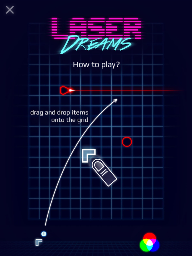 Laser Dreams - Brain Puzzle Screenshot 8