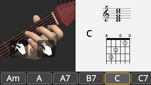 Basic Guitar Chords 3D screenshot 5