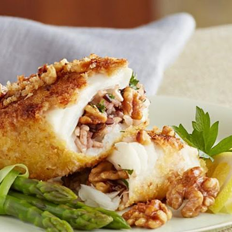 Walnut Panko Crusted Chilean Sea Bass