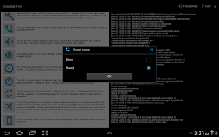 Screenshot of DroidSet Free