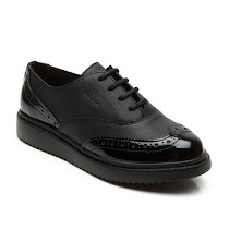 Geox Thymar Lace Shoe SCHOOL SHOE