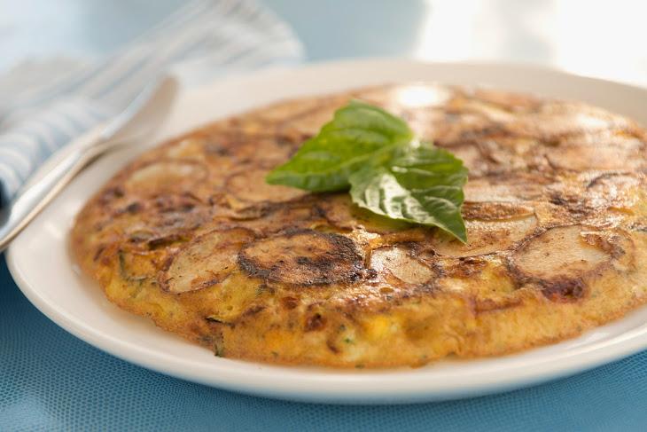 Zucchini & Potato Frittata Recipe | Yummly