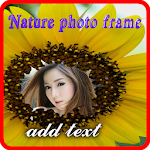 Natural portrait photo frame Icon