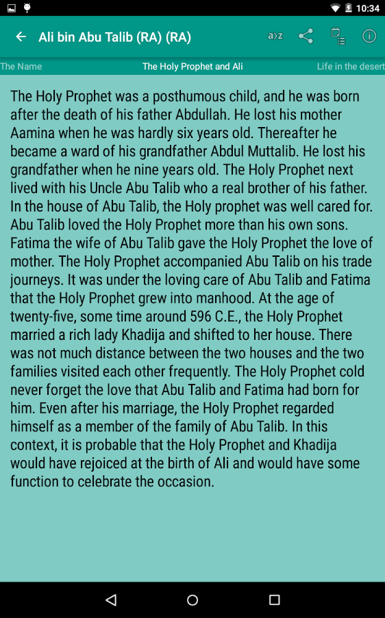 Stories of Sahaba Screenshot 14