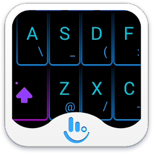 Cover art TouchPal Neon Light Theme