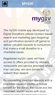 myGIV - screenshot