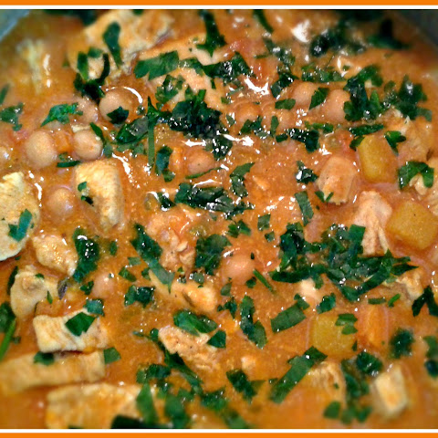 Chicken, Chickpea and Sweet Potato Stew