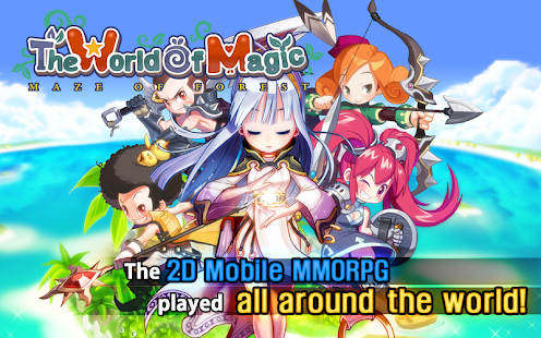Game The World of Magic APK for Kindle