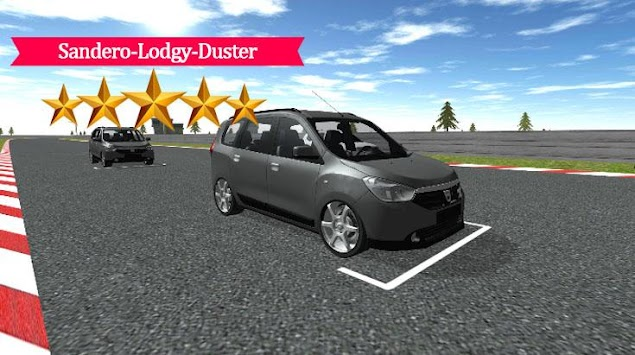 sandero lodgy duster racing apk by race of 2017. Black Bedroom Furniture Sets. Home Design Ideas
