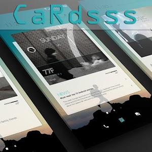 CaRdsss for KLWP APK Cracked Download