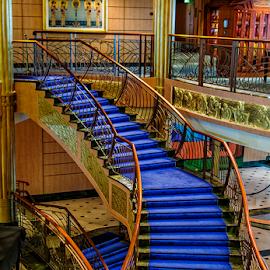 stairway by Lennie Locken - Buildings & Architecture Other Interior