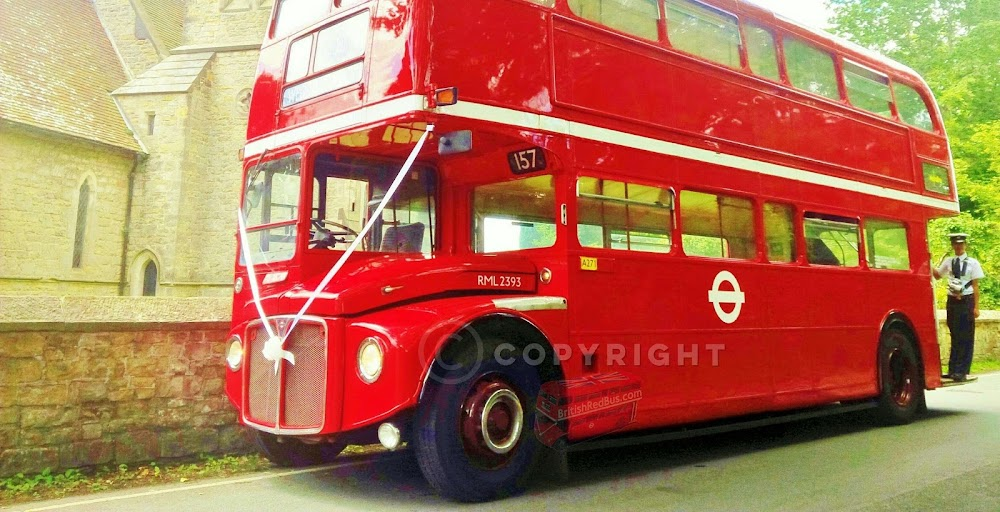 Routemaster Bus Hire Croydon Wimbledon London Surrey Kent Vintage Taxi Wedding Dress