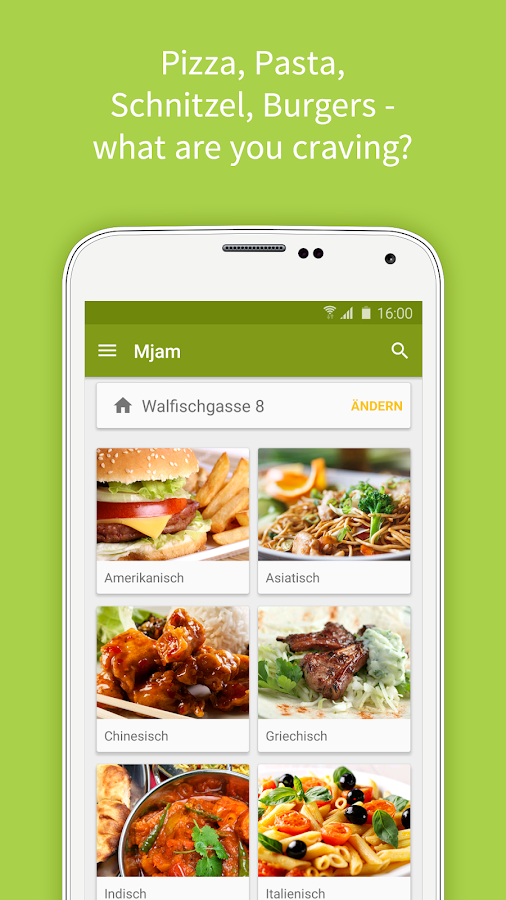 Mjam.at - Order food online Screenshot 1