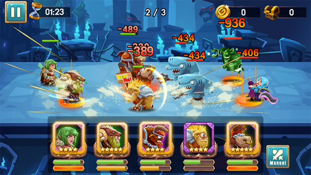 We Heroes - Born To Fight APK screenshot thumbnail 7