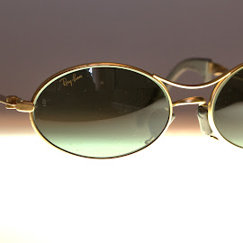 Ray Ban Sports by Cal Brown - Artistic Objects Other Objects ( up close, ray bans, other object, b&l, artistic object, sunglasses )